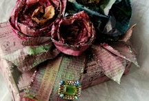 Altered Art that I love! / This board has the idea's of great creativity. / by Debi Hamilton