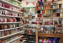 The Haberdashery Closet / Our old shop at Lincoln HQ. It's now moved to Clifton Nurseries in London