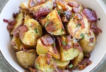 Food potatoes / by Yvonne