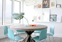 Trend: Pastel Paradise / A mix of soft yet vibrant hues in inspiring interiors.