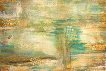 Abstract Acrylic Art by Edward Bock / My art explorations!