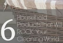 Cleaning House / Tips and tricks for cleaning!  / by House on the Way - Home Decor & Design Blog