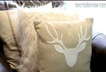 Posh Pillows / Gorgeous pillows to buy or create on your own. Love the inspiration!