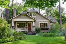 Architecture ~ Arts & Crafts, Craftsman Style, Mission Style / by Wine Country Woman