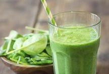 Green Smoothies / Green Smoothie Recipes for Detox Cleanse
