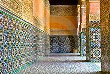 Marrokkanische Fliesen