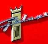 Galaxie / 1963 Ford Galaxies, one of the loveliest cars ever designed. (I should know, I own one!)