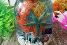 Mason Jar Science and Crafts / I bought 150 Mason jars at an estate sale. Now I need to find ways to use them.