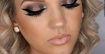 Макияж/Makeup - Волосы