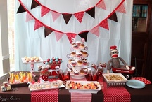 PARTY: Sock Monkey Party / Crafts, printables, recipes, and party decor to help you host an EXTRAORDINARY Sock Monkey themed party!