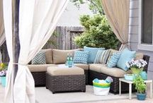 Summer/porches/outdoors / ~ Porches ~ dining ~ outdoor living ~ / by Nikki Fry