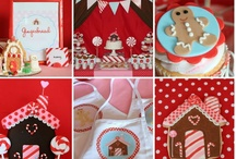 PARTY: Gingerbread House / Crafts, printables, recipes, and party decor for an EXTRAORDINARY Gingerbread House Decorating party!