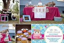 PARTY: Owl Party / Crafts, printables, recipes, and party decor to help you host an EXTRAORDINARY Owl themed party!