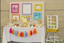 PARTY: Art Party / Crafts, printables, recipes, and party decor to help you host an EXTRAORDINARY Art party!