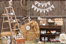 PARTY: Cowboy Party / Crafts, printables, recipes, and party decor to help you host an EXTRAORDINARY Cowboy themed party!