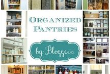 Organize - Pantry / How to create an organized pantry.