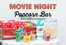 PARTY: Movie Party / Crafts, printables, recipes, and party decor to help you host an EXTRAORDINARY Movie party!