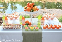 PARTY: Citrus Party / Crafts, printables, recipes, and party decor for an EXTRAORDINARY Citrus party!