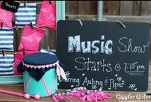 PARTY: Music Party / Crafts, printables, recipes, and party decor to help you host an EXTRAORDINARY Music party!
