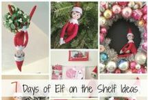 Elf on the Shelf Ideas / Have fun with your Elf on the Shelf!  All these Elf on the Shelf ideas will help you find new and interesting ideas for your mischievous Elf!