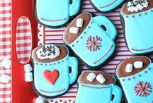 PARTY: Hot Cocoa Stand / Crafts, printables, recipes, and party decor for an EXTRAORDINARY and fun Hot Cocoa Stand!