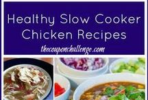 Chicken Recipes / Chicken is the staple for most households.  Keep the family happy and try one of these awesome chicken recipes for dinner tonight.   / by The Coupon Challenge, LLC