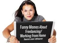 Funny Memes About Freelancing/Working From Home / The best way to escape from the monotony of #freelancing and #workingfromhome is through these humorous and fun #memes.