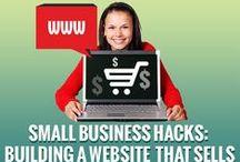 Small Business Hacks / Get smart tips to grow your biz!