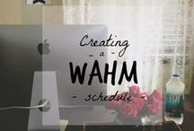 WAHM- tastics! / Fourerr's favourite #WAHM's. Because we believe in #WomenEmpowering!