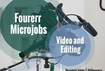 Fourerr Microjobs - Video and Editing / Outstanding Fourerr Sellers in the field of #Video and #Editing. Check out their profiles and their works! Hire them and get the job done starting at $4!