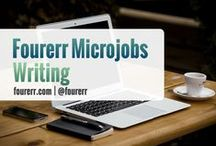 Fourerr Microjobs - Writing and Translation / Outstanding Fourerr Sellers in the field of #General Writing. Check out their profiles and their works! Hire them and get the job done starting at $4! #freelancewriters