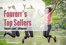 Fourerr's Top Sellers / Here are Fourerr's Top Sellers based on their ratings, feedbacks, and number of #microjobs sold! Sellers- get inspiration from them and start reaching for your own success! Buyers- you don't have to look that far! These sellers can DO the jobs for you!