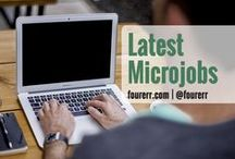 Latest Microjobs on Fourerr / Grab the latest micro jobs HOT and FRESH! You don't have to look that far as we've got the best freelancers for all your business' needs.