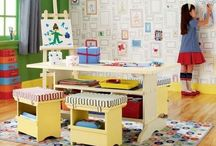 DECORATE: Play Room Ideas / EXTRAORDINARY ideas, design and DIY projects to decorate your play room.