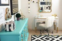 DECORATE: Girls Bedroom Ideas / EXTRAORDINARY ideas, design and DIY projects to decorate your girls room.
