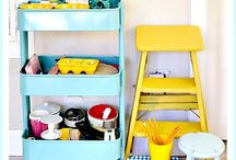 DECORATE: Craft Room/Office Ideas / DIY projects, crafts and products to make your craft room or office EXTRAORDINARY!