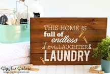DECORATE: Entry & Laundry Room  Ideas / EXTRAORDINARY design ideas, DIY projects and products to help you decorate your entry and laundry room!