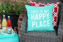 DECORATE: Outdoor Space / EXTRAORDINARY DIY projects, creative ideas and products to decorate your outdoor space. / by Giggles Galore