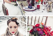 Ideas For the Wedding / Originally going with a snowflake theme for a winter wedding in January... now it's a fall wedding in October 2013... still snowflake?  Hmmmm / by Bethany Rizzo