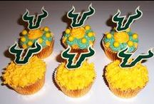Bull Bites / Get ready for game day or any day with these USF-themed treats, drinks, and kitchen items. Have you created your own USF-themed dishes? Email us a picture and recipe at social@usf.edu!