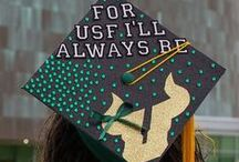 Hats Off / Graduating this semester? Congratulations! Now make your mortar board your own by decorating it. Here are some caps decorated by USF students to inspire you! Send a picture of your decorated graduation cap to social@usf.edu.