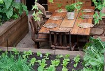 Garden & patio / Places for your planties, outdoor decorations & spaces.