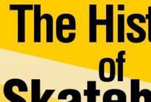 skate-board / Skateboard history, parts, anatomy ect