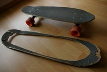 up~cycled skateboards