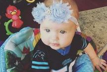 Littlest Panthers Fans / Pictures of our youngest fans, raised to proudly wear the black, silver and blue! You can't beat this cuteness, send your photos to SocialMedia@Panthers.NFL.com or message us on Pinterest. / by Carolina Panthers
