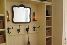 Mudrooms & Closets / Some of my favorite designs and layouts for organized mudrooms and closets.