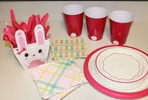 Some BUNNY is Turning TWO / 2nd Birthday party for a little girl with tons of BUNNIES
