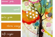 Color Palettes / by Mabelle R.O @ Whimsy and Stars Studio