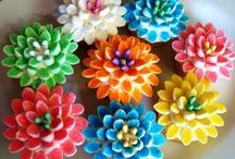 Baking: Cupcakes - Flowers