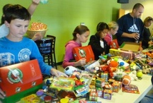 Let's Have a Party! / People all over the U.S. throw parties with friends, family, and neighbors to pack OCC shoe boxes!